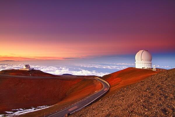 Мауна-Кеа - Белая гора Гавайи - наивысшая вершина островов