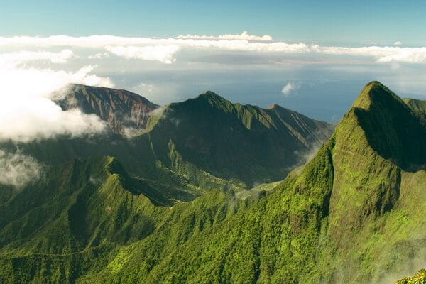 Горы на Гавайях - Пик Пуу Кукуи