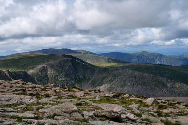 Бен-Макдуй - вторая самая высокая гора Шотландии