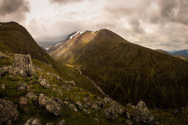 Бен-Невис - самая высокая гора Шотландии и всех Британских островов