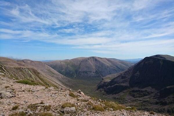 Браериах - третья высокая гора Шотландии