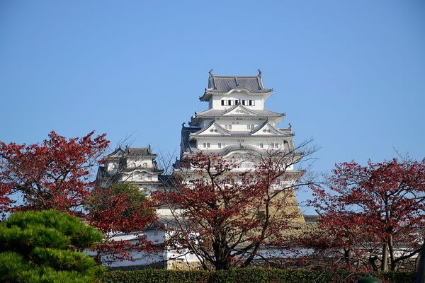 Химэдзи или Замок Белой Цапли в Японии