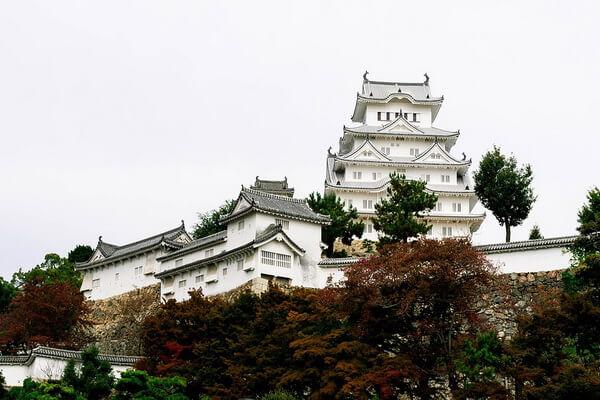 Мистики замка Белой Цапли в Японии