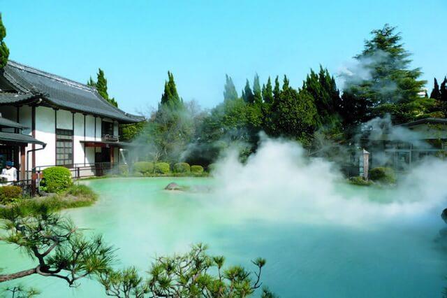 Девять кругов ада Беппу - уникальные горячие источники Японии