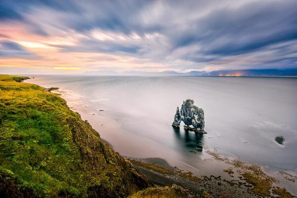 Скала Хвитсеркур в Исландии - красивые фото