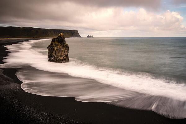 Чёрный пляж Рейнисфьяра, Исландия