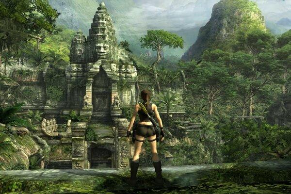 В Камбодже был снят фильм про Лару Крофт