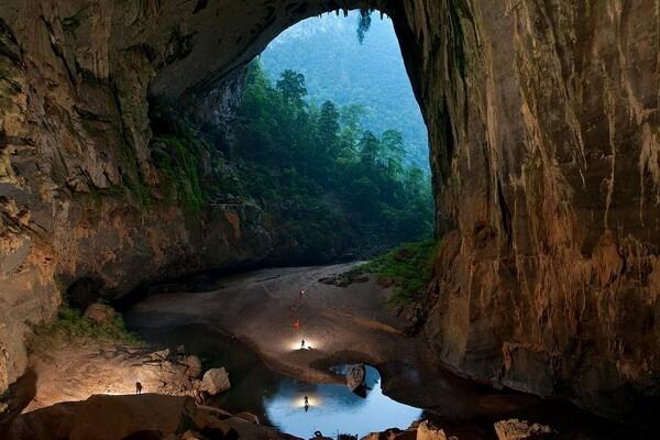 Интересные факты о Вьетнаме - Пещера Шондонг - самая большая в мире