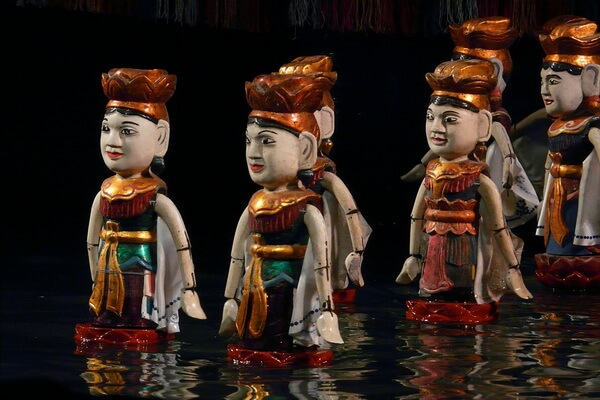 Кукольный театр на воде – популярная вьетнамская традиция