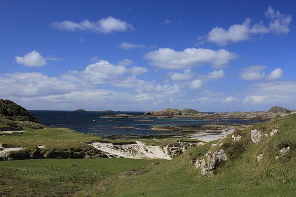 Остров Иона (Айона) в Шотландии на Гебридах