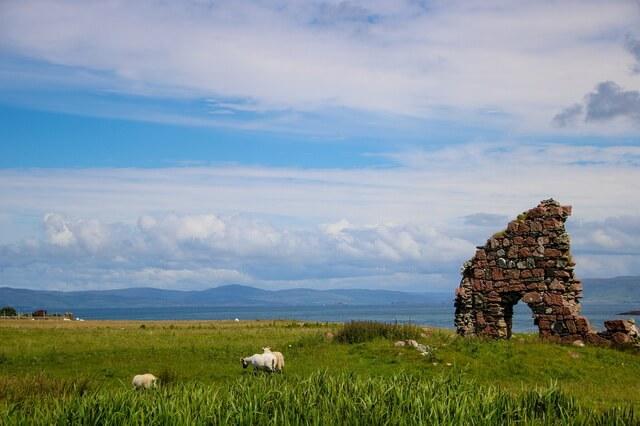 Остров Иона в Шотландии