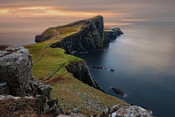 Достопримечательности острова Скай в Шотландии - Мыс Троттерниш