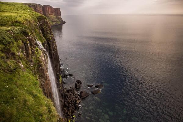 Достопримечательности острова Скай - Водопад Килт Фоллс