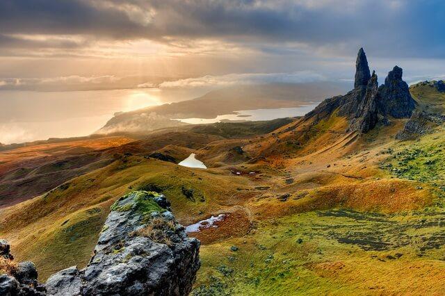 Остров Скай в Шотландии - история и достопримечательности