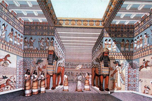 Раскопки города Ниневия