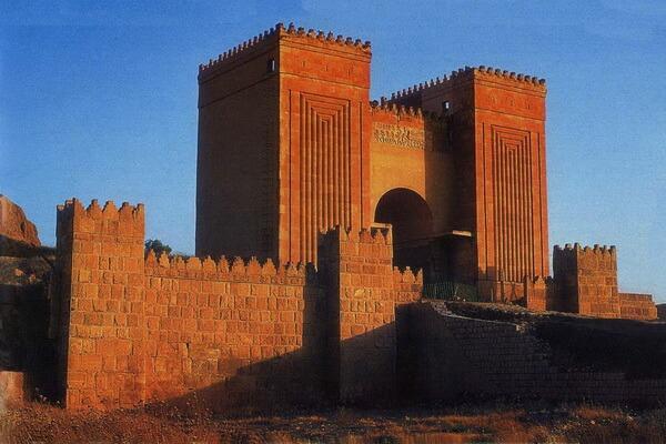 Раскопки Ниневии - столицы древней Ассирии