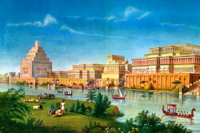История раскопок Ниневии - древней столицы Ассирии