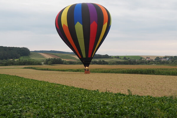 История первых полётов на воздушных шарах