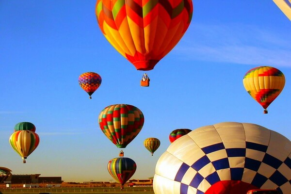 Современные фестивали воздухоплавания