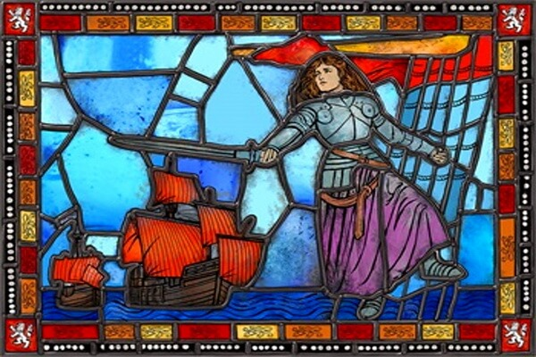 Известные женщины-пираты - Жанна де Бельвиль
