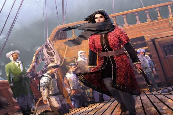 Известные женщины-пираты - Саида аль-Хурра