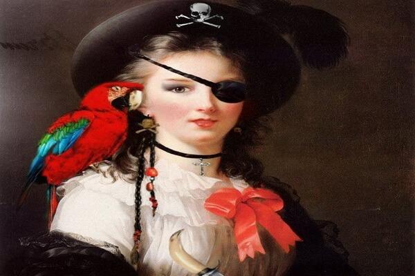 Известные женщины-пираты - Жакотт Делахей