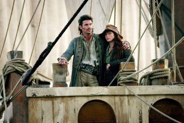 Известные пираты - Энн Бонни и Джек Рэкхем