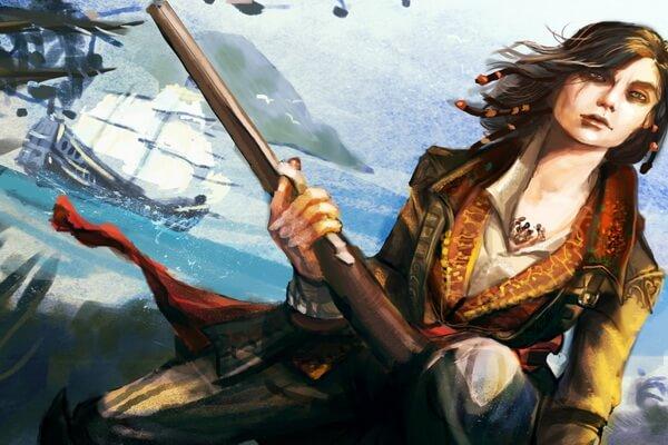 Известные женщины-пираты - Мэри Рид