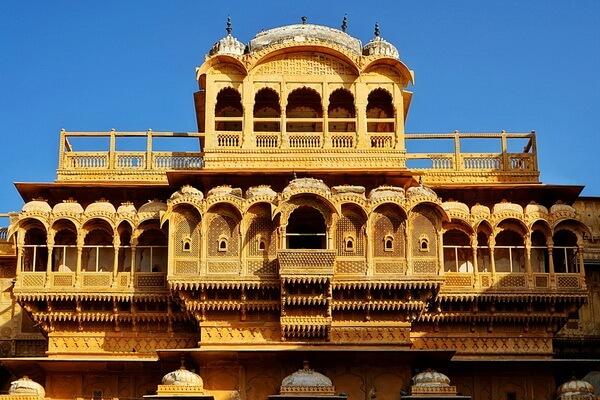 История форта Джайсалмер в Индии