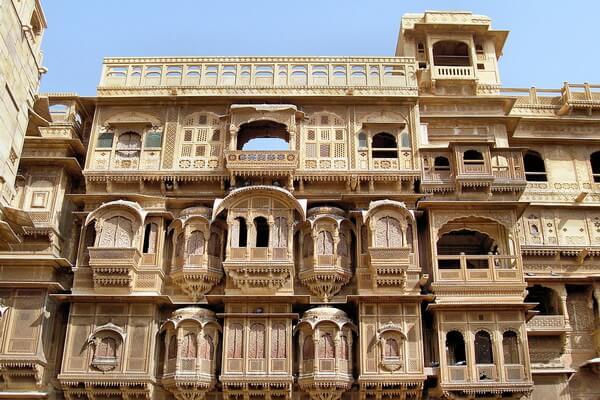 Форт Джайсалмер в Раджастхане и его достопримечательности - Королевский дворец