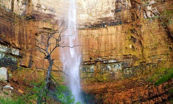 Водопад Кинчха, Грузия