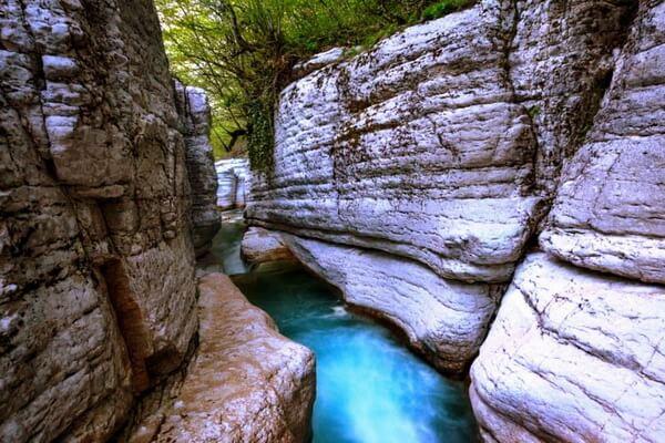 Как добраться до каньона Окаце