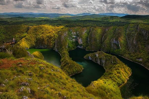 Интересные достопримечательности в окрестностях каньона реки Увац в Сербии
