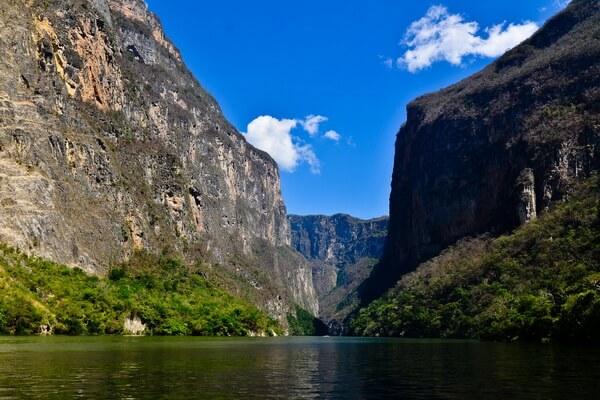 Каньон Сумидеро в Мексике - красивые фото
