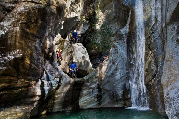 Лучшие места для каньонинга