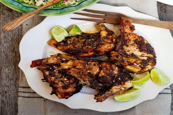 Ямайская кухня - Курица по-ямайски