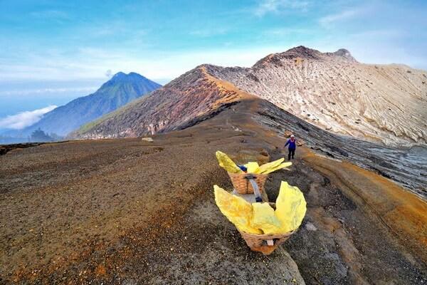 Опасности вулкана Кава Иджен