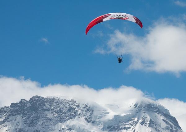 Полёты на параплане на Килиманджаро