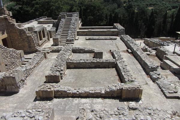 Раскопки Артура Эванса на Крите