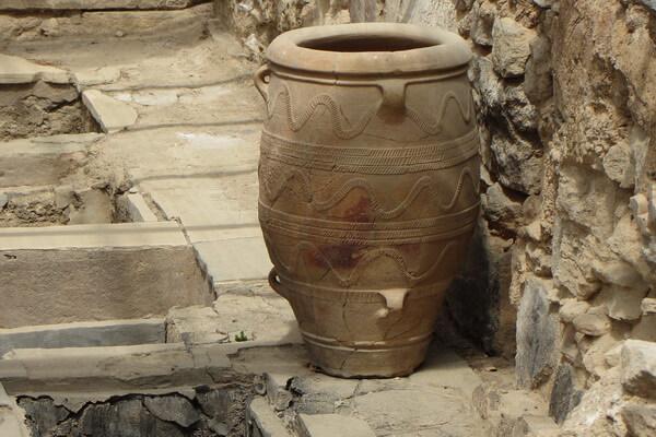 История открытия Кносского дворца на Крите