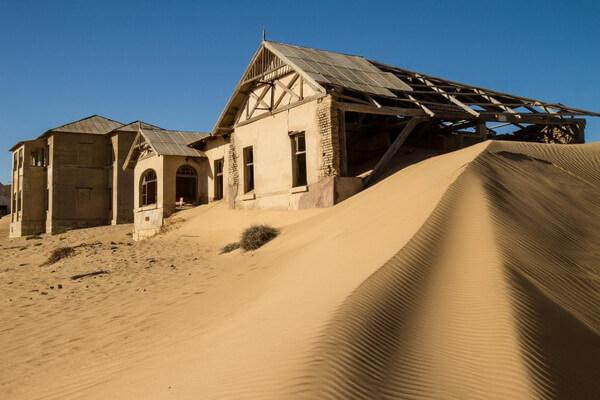 Фото Колманскоп - города-призрака Намибии