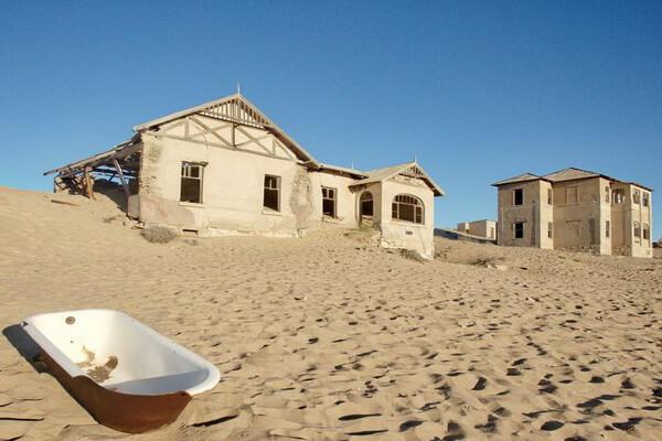 История Колманскопа в Намибии