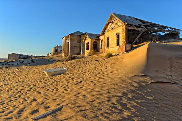 Колманскоп - город-призрак Намибии