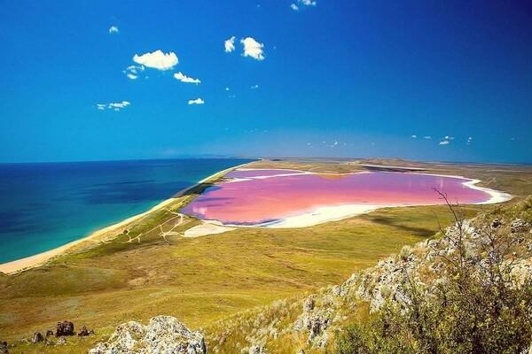 Кояшское озеро в Крыму - фото и описание