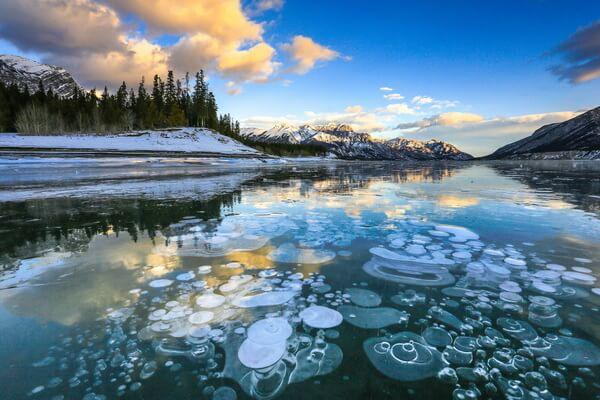 Красивые озёра Канады с фото и описанием - Озеро Эйбрахам