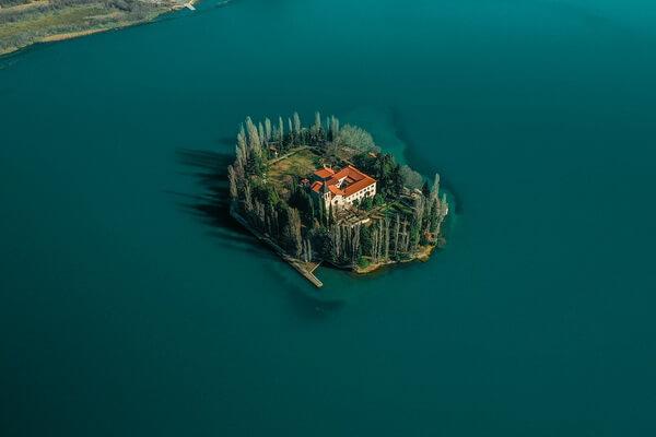 Национальный парк Крка в Хорватии и его достопримечательности - Остров Висовац