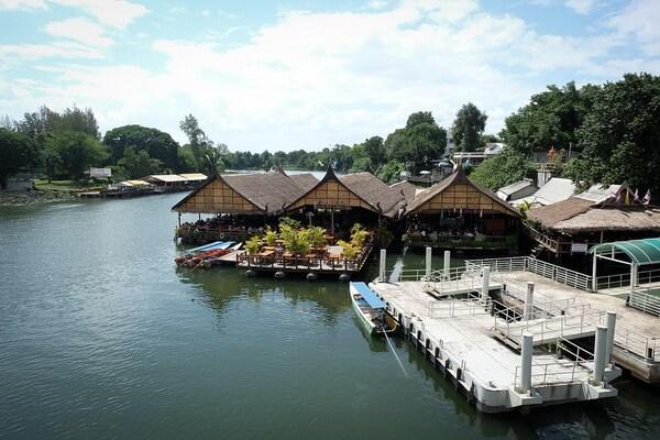 Отдых на реке Квай в Таиланде