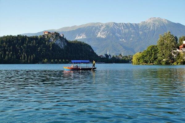 Самые красивые места Европы - Озеро Блед в Словении