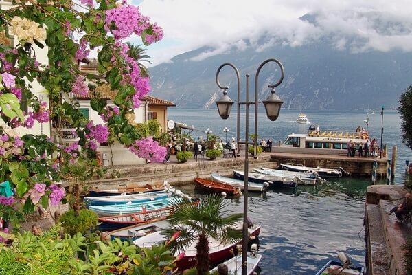 Самые красивые места Европы - Озеро Гарда в Италии