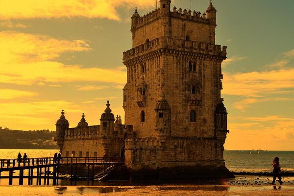 Достопримечательности Лиссабона - Крепость Torre de Belem